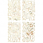 Jovial Chipboard stafir image