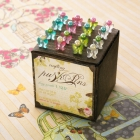 Websters Push Pins-Butterfly image