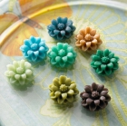 Mini Petals Whimsies, blandair litir image