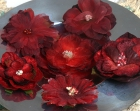 Mixed Blooms-Red and Burgundy image