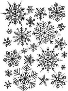 Snowflake Background image