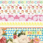 Let's Celebrate-Fabric Ribbons image