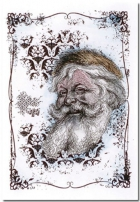Santa with Fur Hat image