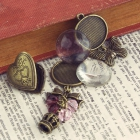 Prima Vintage Trinkets Collection-Heart Photo Charms image